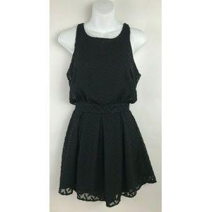 Everleigh Black Open Back Sleeveless Dress Sz XS